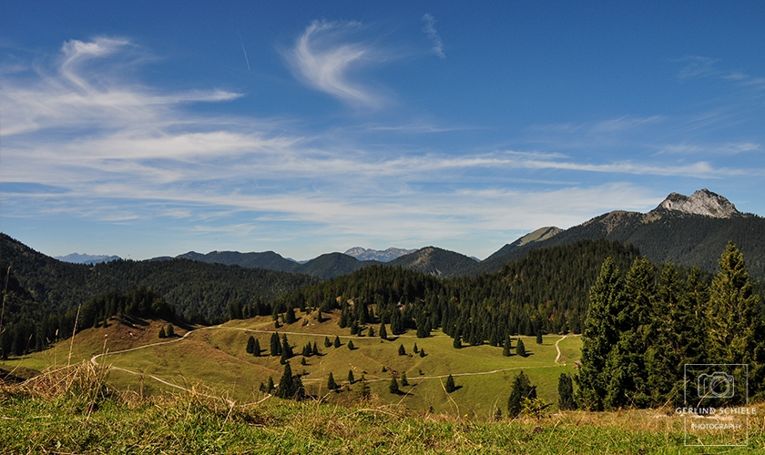 Wanderparadies Tegernseer Bergwelt Copyright Gerlind Schiele Photography +49 (0) 170 - 908 85 85
