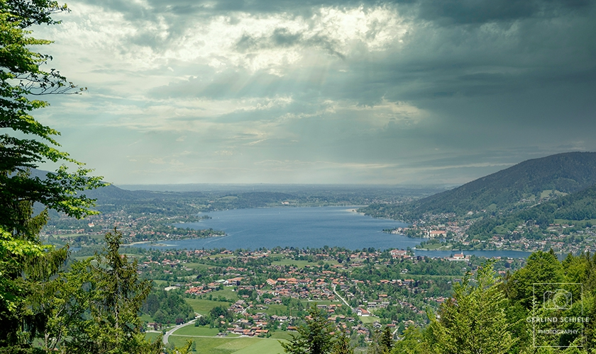 Vor dem Sturm am Tegernsee Copyright Gerlind Schiele Photography +49 (0) 170 - 908 85 85