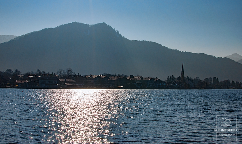 Sonne im Tegernsee Copyright Gerlind Schiele Photography +49 (0) 170 - 908 85 85